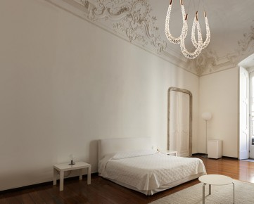 beautiful hotel in historic building, double room