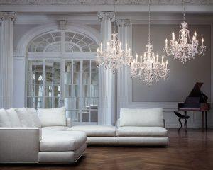 contemporary designer chandelier Hammersmith