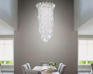 contemporary crystal chandelier Kensington